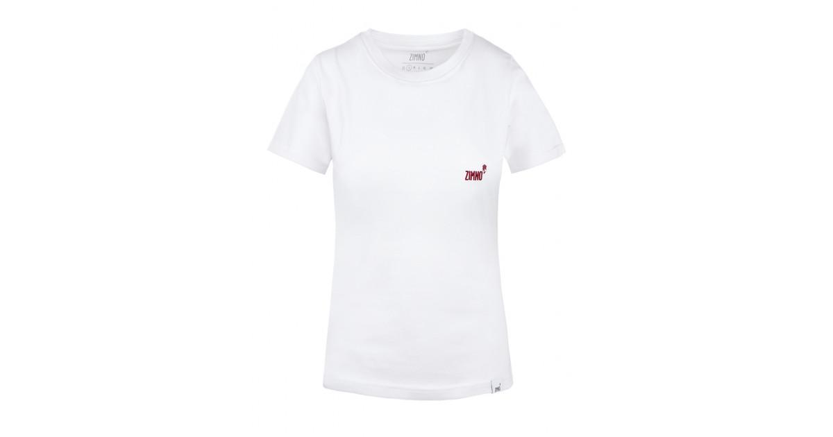 T-Shirt Basic Damski Biały