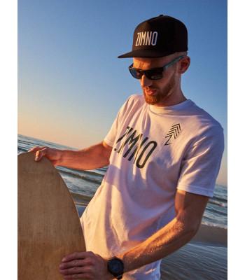 T-Shirt Long Biały Świerki