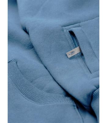 Bluza Hoodie Niebieska