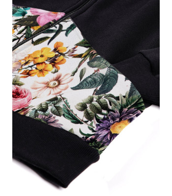 Bluza rozpinana z kapturem