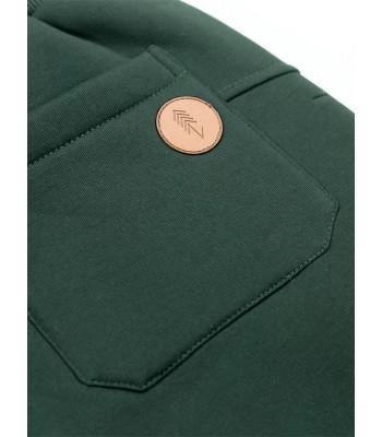 Spodnie Dresowe Męskie Khaki